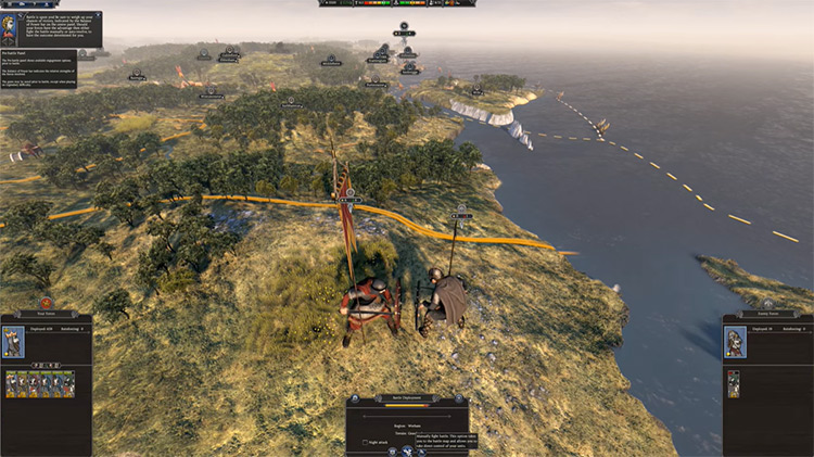 Total War Saga: Thrones of Britannia gameplay screenshot