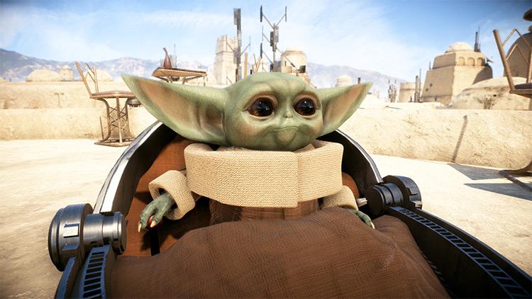 Baby Yoda screenshot