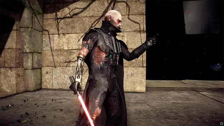 Battle Damaged Darth Vader screenshot
