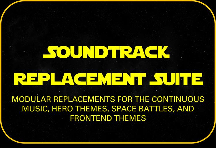 Soundtrack Replacement Suite Mod title