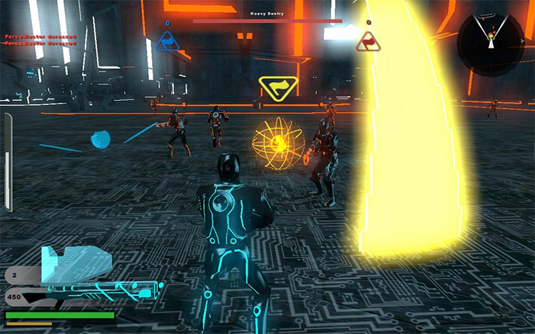 TRON: The Grid Mod gameplay screenshot