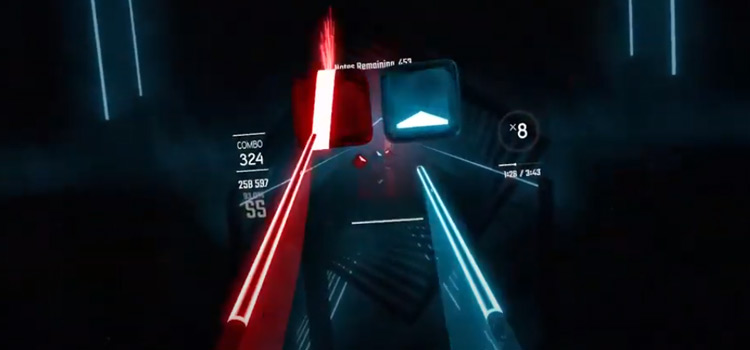 Beat Saber Custom Song - Face My Fears Screenshot