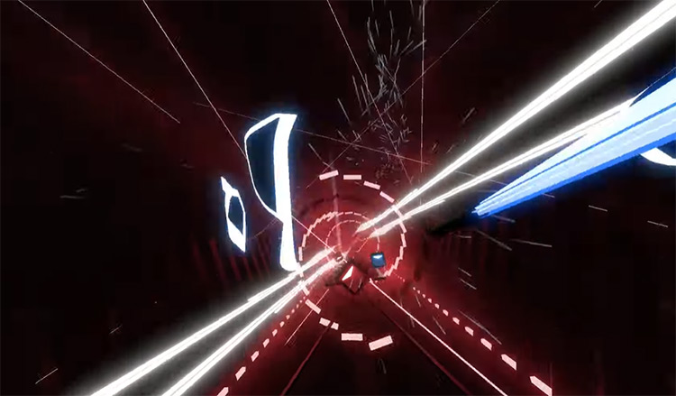 The Wall – ABIS & Signal & Tasha Baxter Beat Saber screenshot