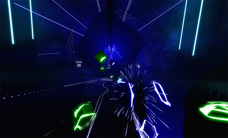 New Rules – Dua Lipa Beat Saber screenshot