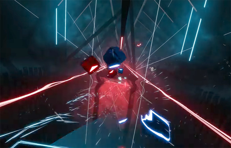 Technologic – Daft Punk Beat Saber gameplay