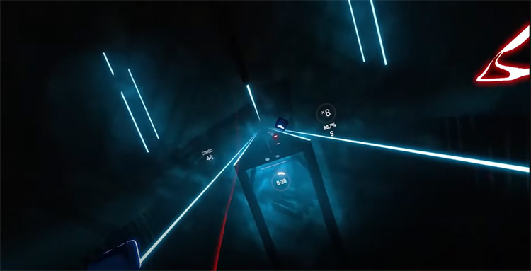 Uptown Funk – Mark Ronson ft. Bruno Mars Beat Saber screenshot