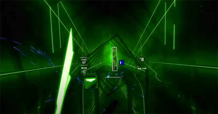 Disco Lady – Nanidato Beat Saber gameplay screenshot