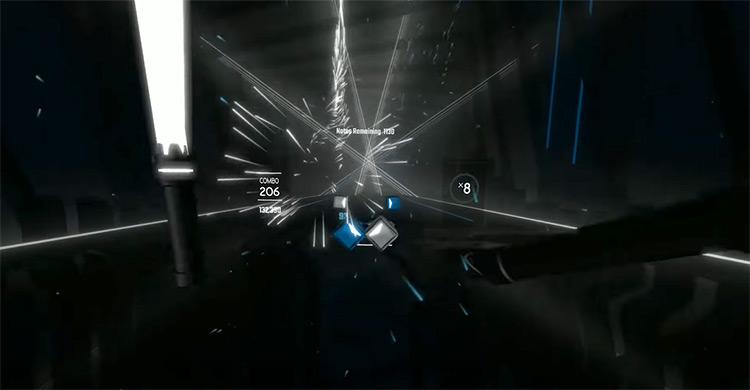 Ievan Polka – Miku Hatsune Beat Saber gameplay