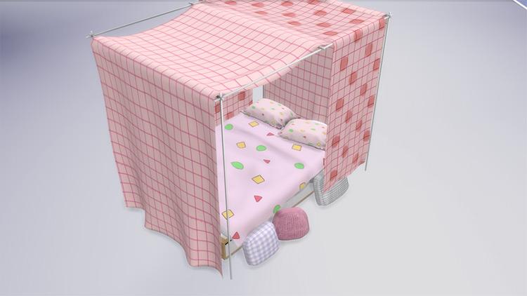 Canopy Set - Bedroom TS4 CC