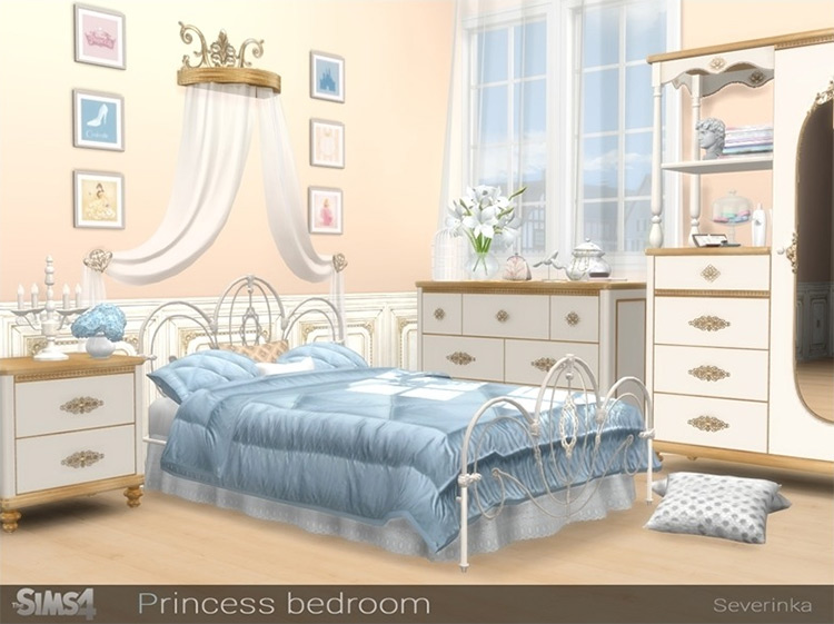 Princess Bedroom Bed Canopy CC