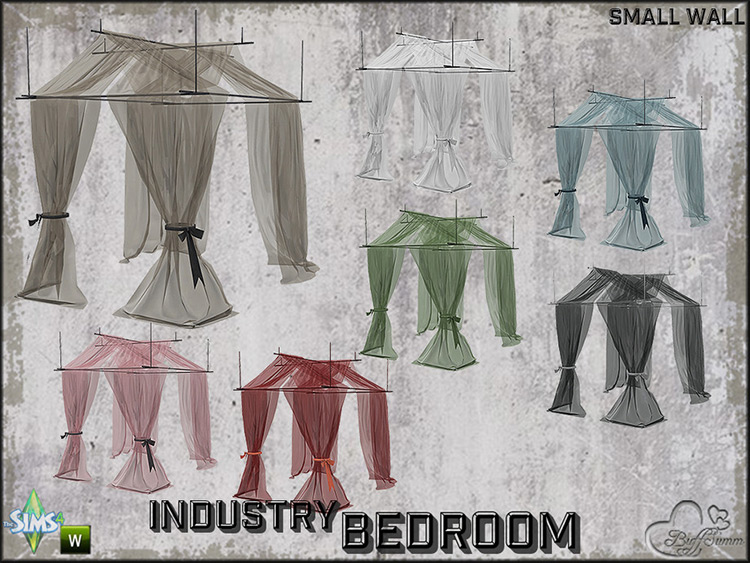 Bedroom Industry Canopy Sheer CC