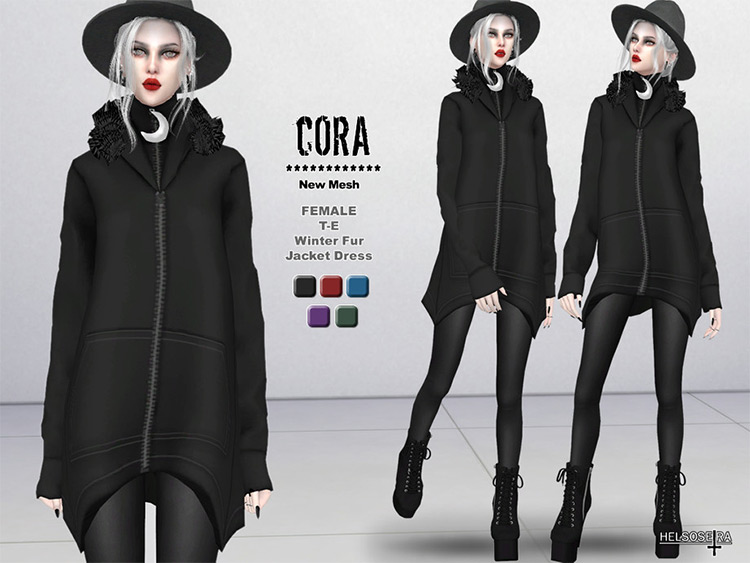 CORA Witch Jacket Custom Content