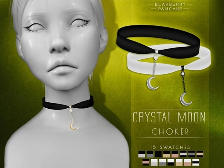 Crystal Moon Choker CC