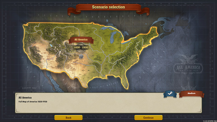 All of America mod for Railway Empire