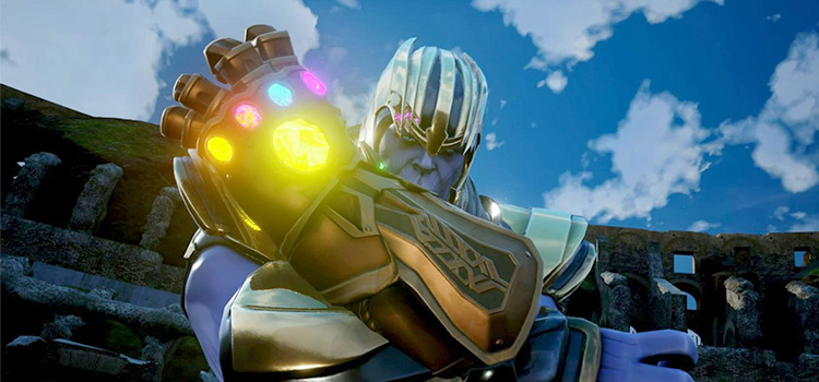 Thanos character mod for Jump Force
