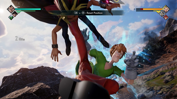 Shaggy from Scooby Doo - Jump Force game mod