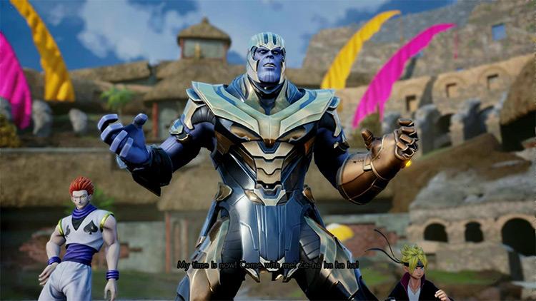 Thanos Jump Force mod screenshot