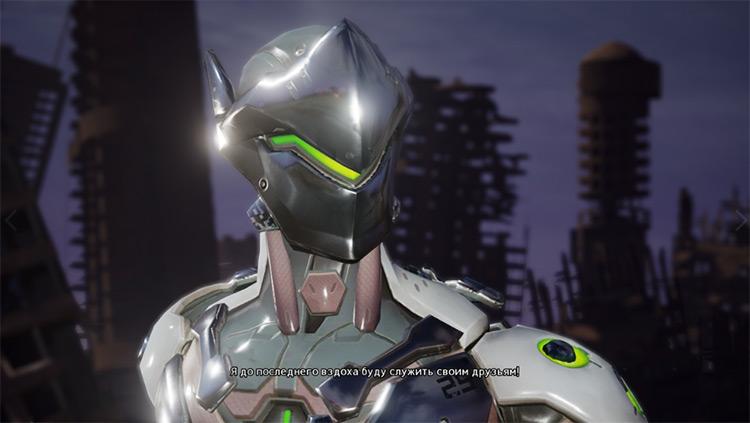 Genji Shimada Jump Force mod screenshot