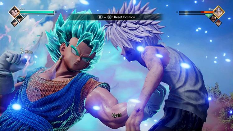 Vegito Jump Force mod screenshot