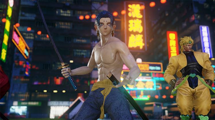 Kumo Ha Katana mod for Jump Force