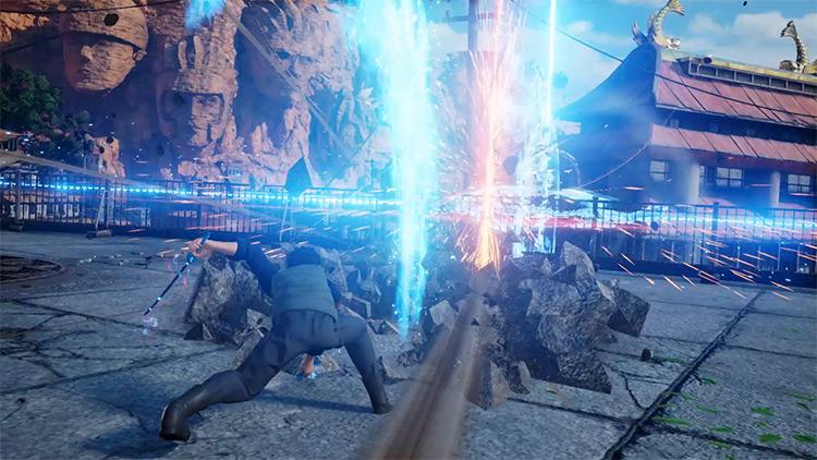 Sandai Kitetsu Replaces Energy Sword Jump Force mod