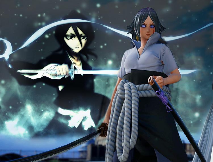 Rukia Moveset For CAC Female A Jump Force mod