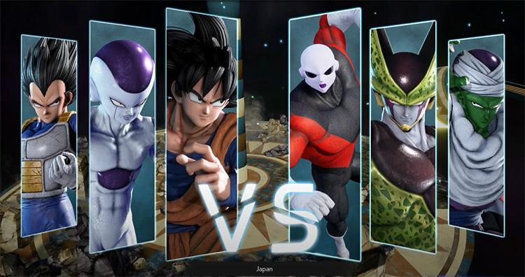 Tournament Of Power Jump Force mod screenshot