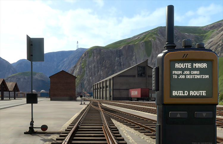 Route Manager Derail Valley mod screenshot