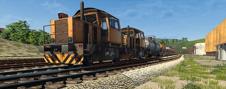 Multiple-unit Diesels Derail Valley mod