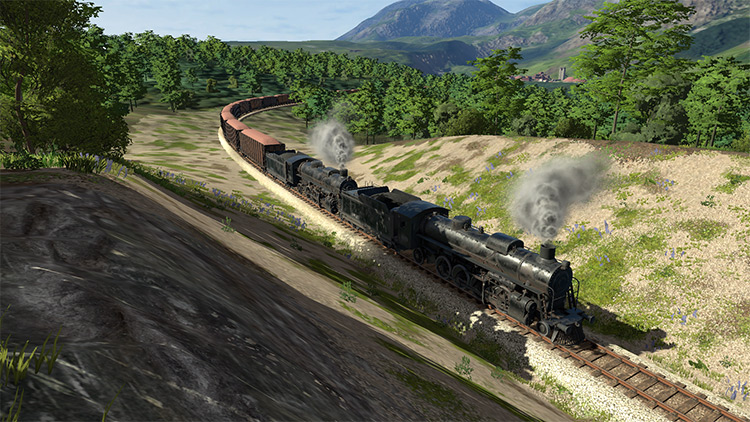 Multiple-unit Steam mod for Derail Valley