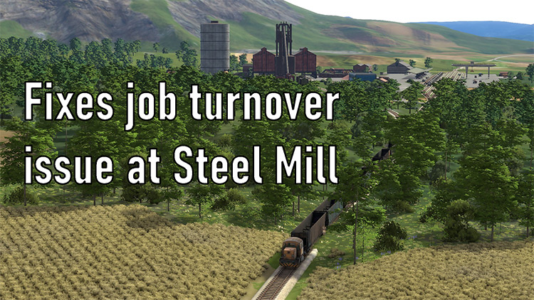 Persistent Jobs mod for Derail Valley