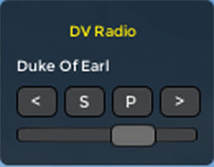 DV Radio mod screenshot