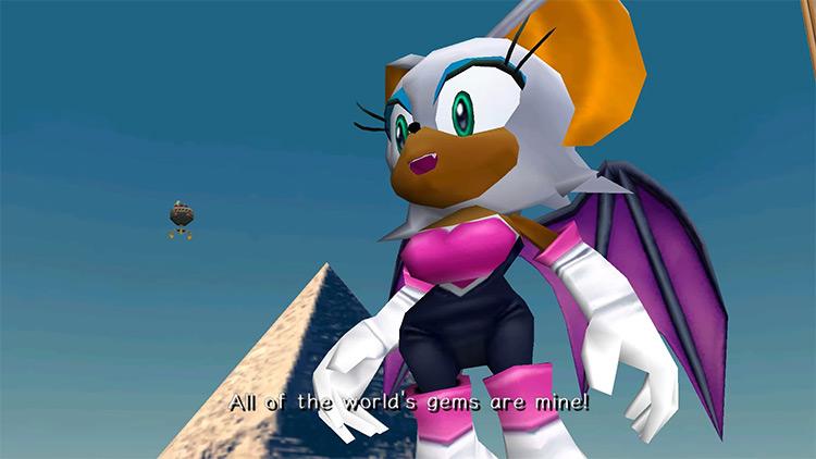 Sonic Adventure 2 Retranslated mod screenshot