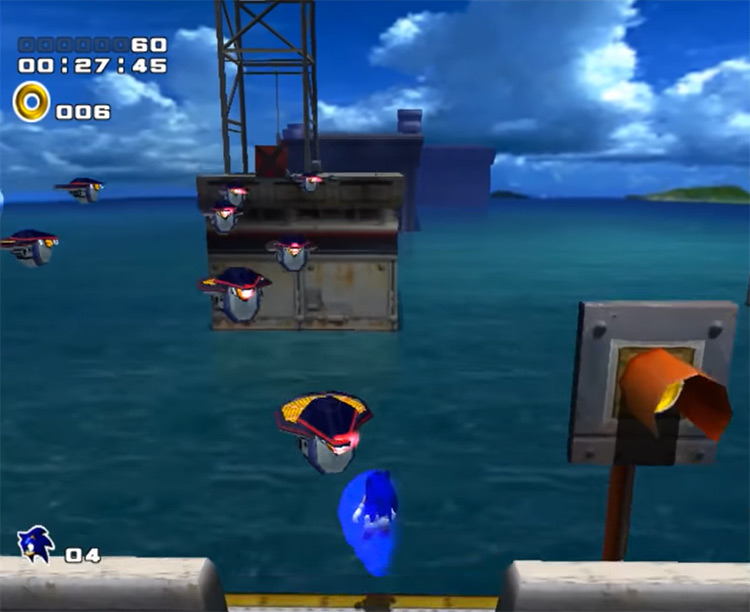Action Remap Sonic Adventure 2 mod