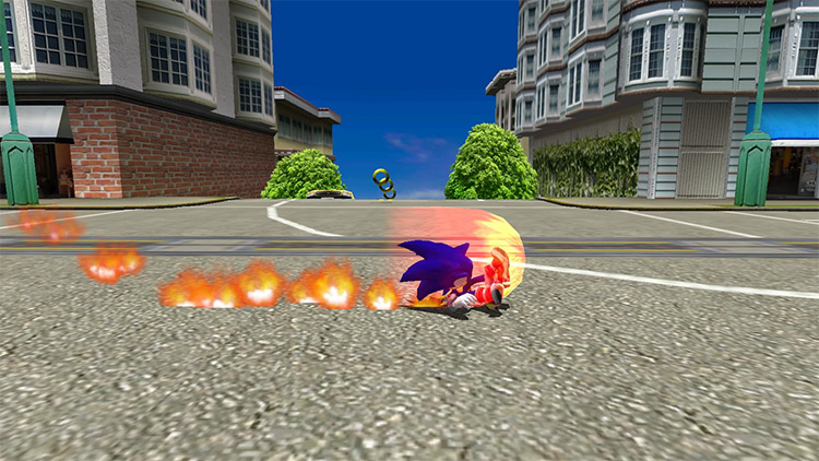 Fast Somersault mod for Sonic Adventure 2
