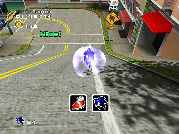 HD GUI Sonic Adventure 2 mod