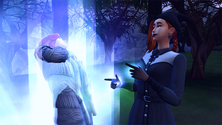 Witches and Warlocks Mod Pack for Sims 4