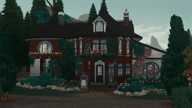 Witch Home Sims 4 CC screenshot