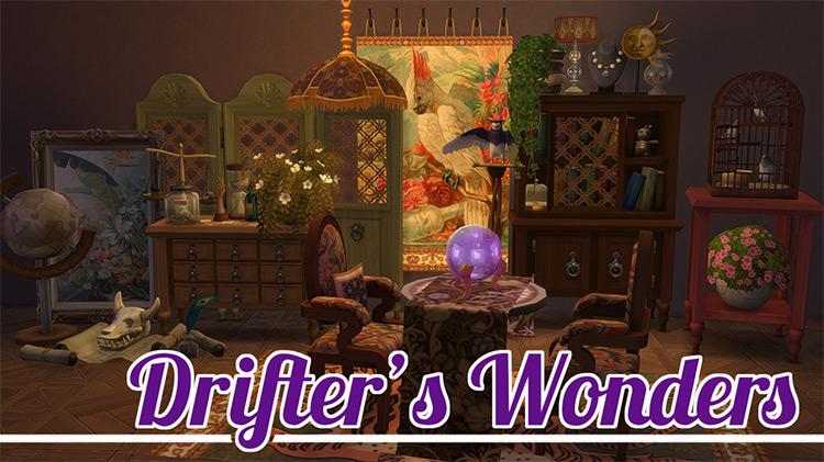 Drifter's Wonders Sims 4 CC
