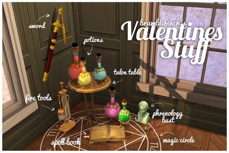 Valentines Stuff Sims 4 CC screenshot