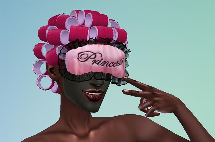 Acne Sleep Mask - Sims 4 CC screenshot