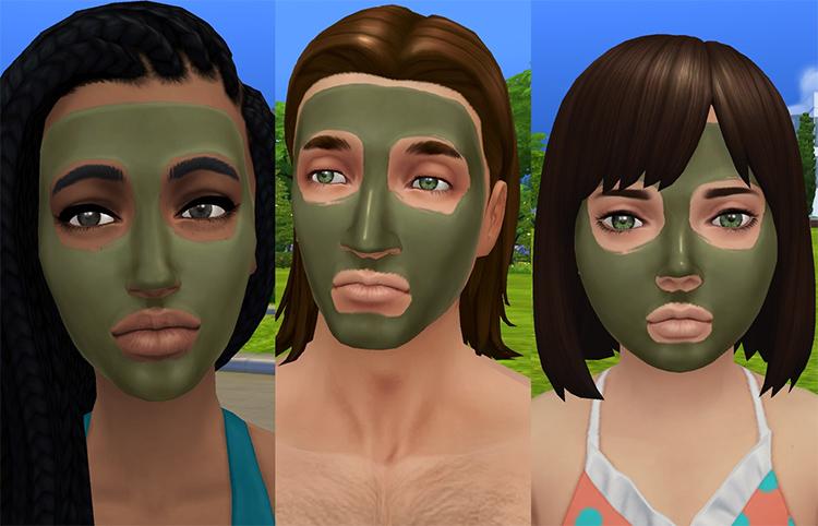 Spa Day Mud Masks Unlocked Sims 4 CC