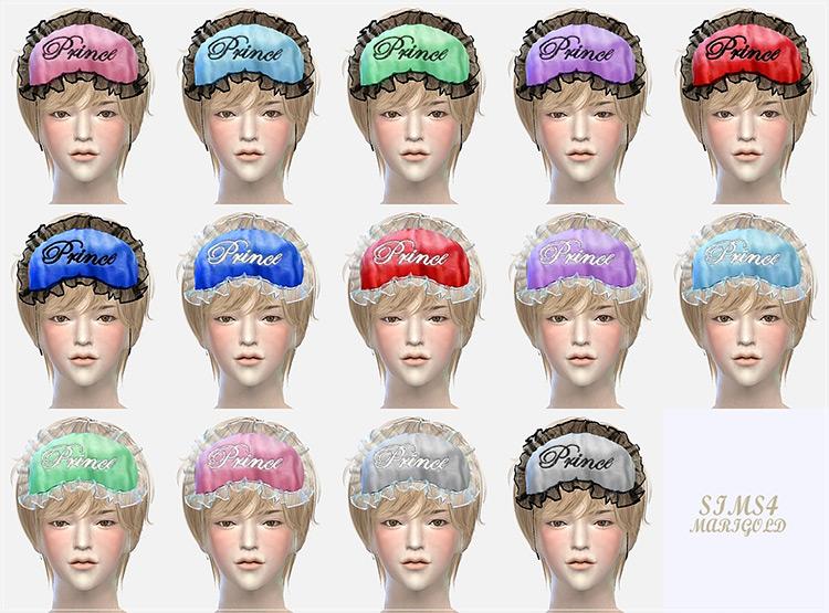 Male Sleep Eye Mask Sims 4 CC