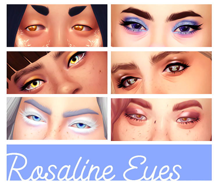 Rosaline Eyes by Acab for Sims 4