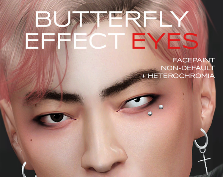 Butterfly Effect Eyes by Pralinesims Sims 4 CC