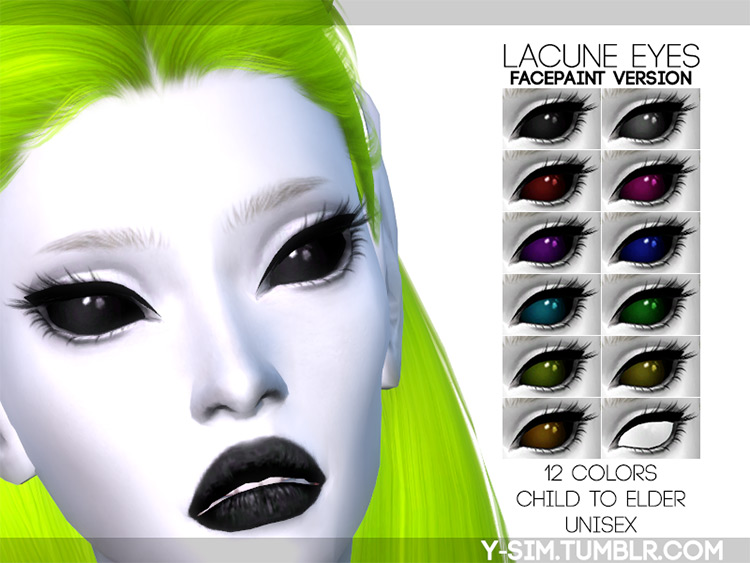 Lacune Eyes by Y-Sim Sims 4 CC
