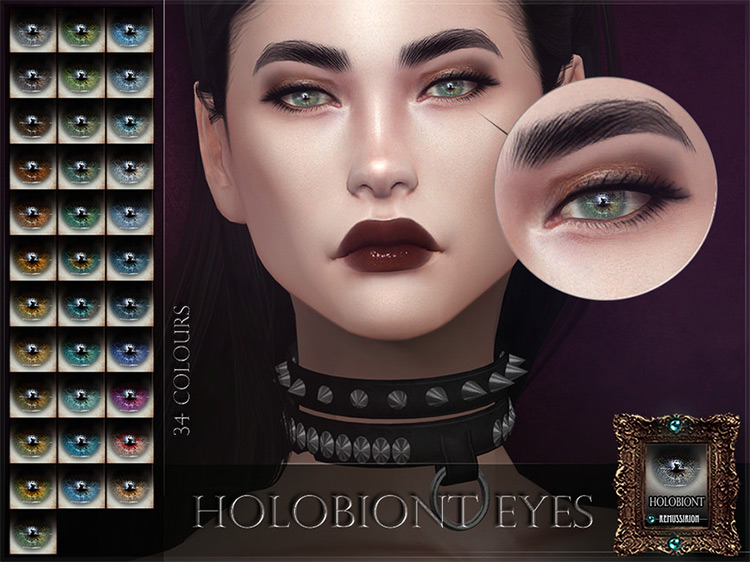 Holobiont Eyes by RemusSirion The Sims 4 CC