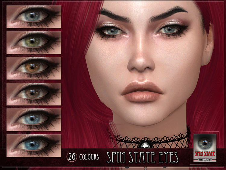 Spin State Eyes by RemusSirion Sims 4 CC