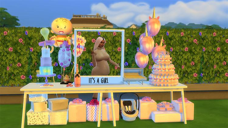 Baby Shower Bundle Sims 4 CC