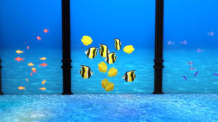 Under The Sea IV: Marine Fishies Sims 4 CC